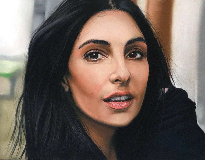 Realisme In Portret Portret Tekenen In Pastel Realisme In Portret