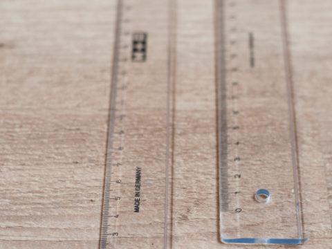 Linialen 30 cm en 50 cm