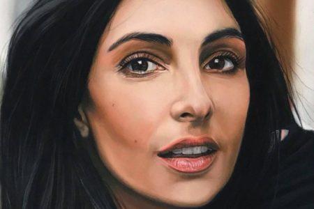 Portret tekenen met pastel