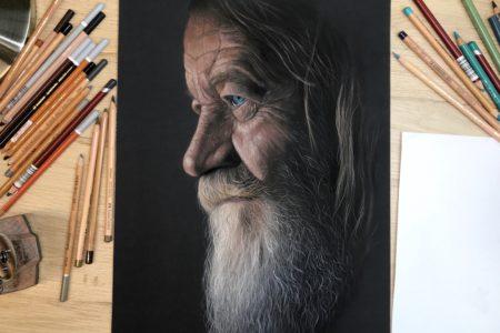 Online cursus: Mensenportret in pastel
