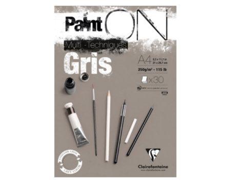 Paint on grijs
