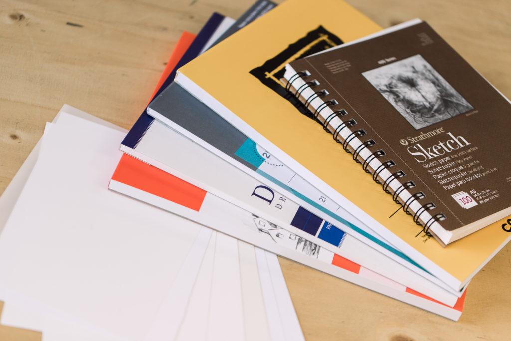 papier geschikt voor grafiet