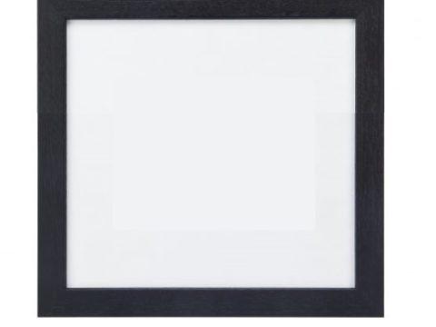 Lijst vierkant zwart