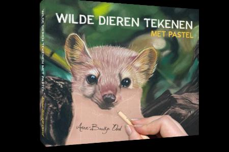 Boek: Wilde dieren tekenen met pastel